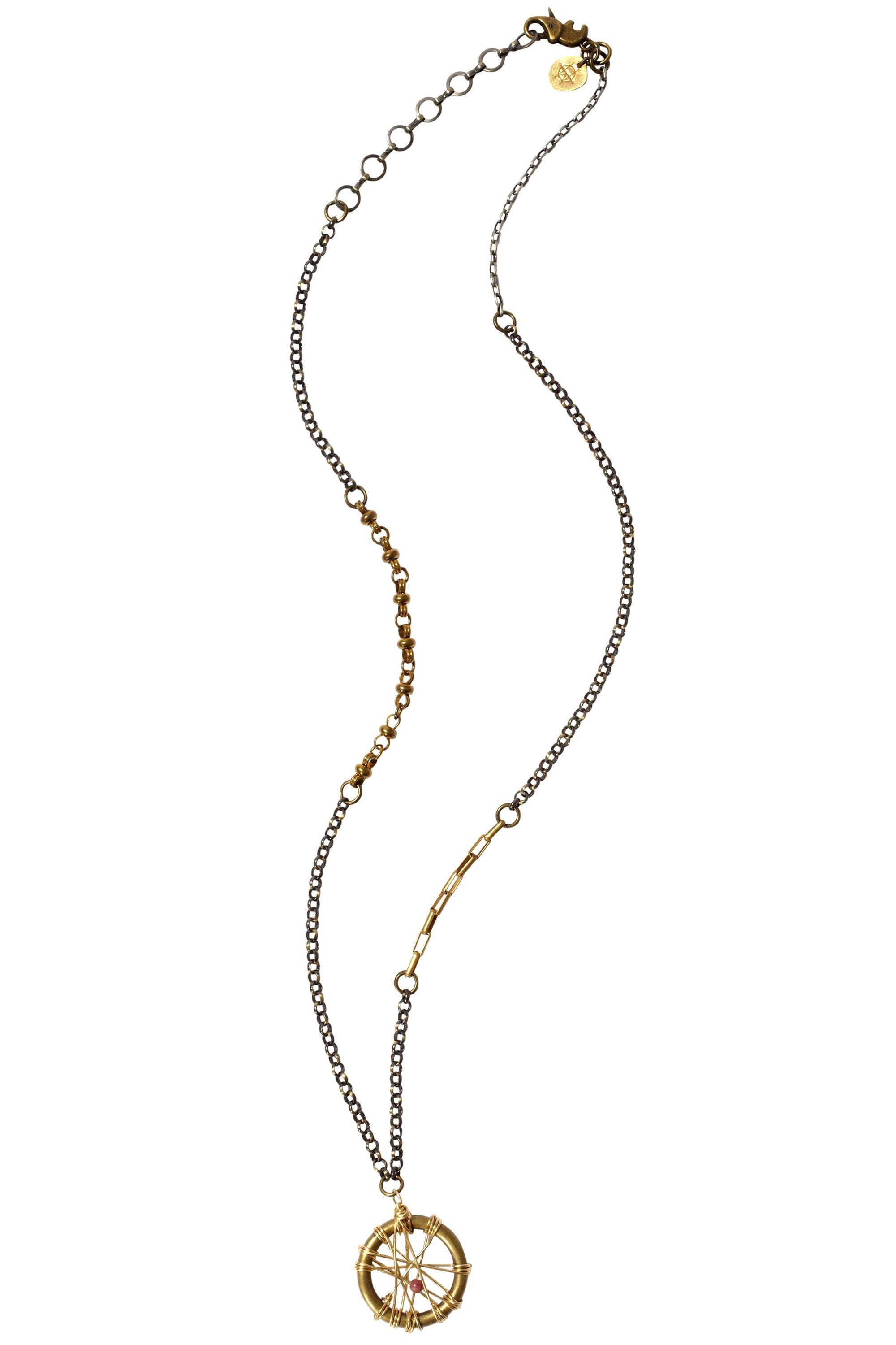 <em>H.O.W.L. Handle Only With Love necklace, $250, 305-607-1934.</em>
