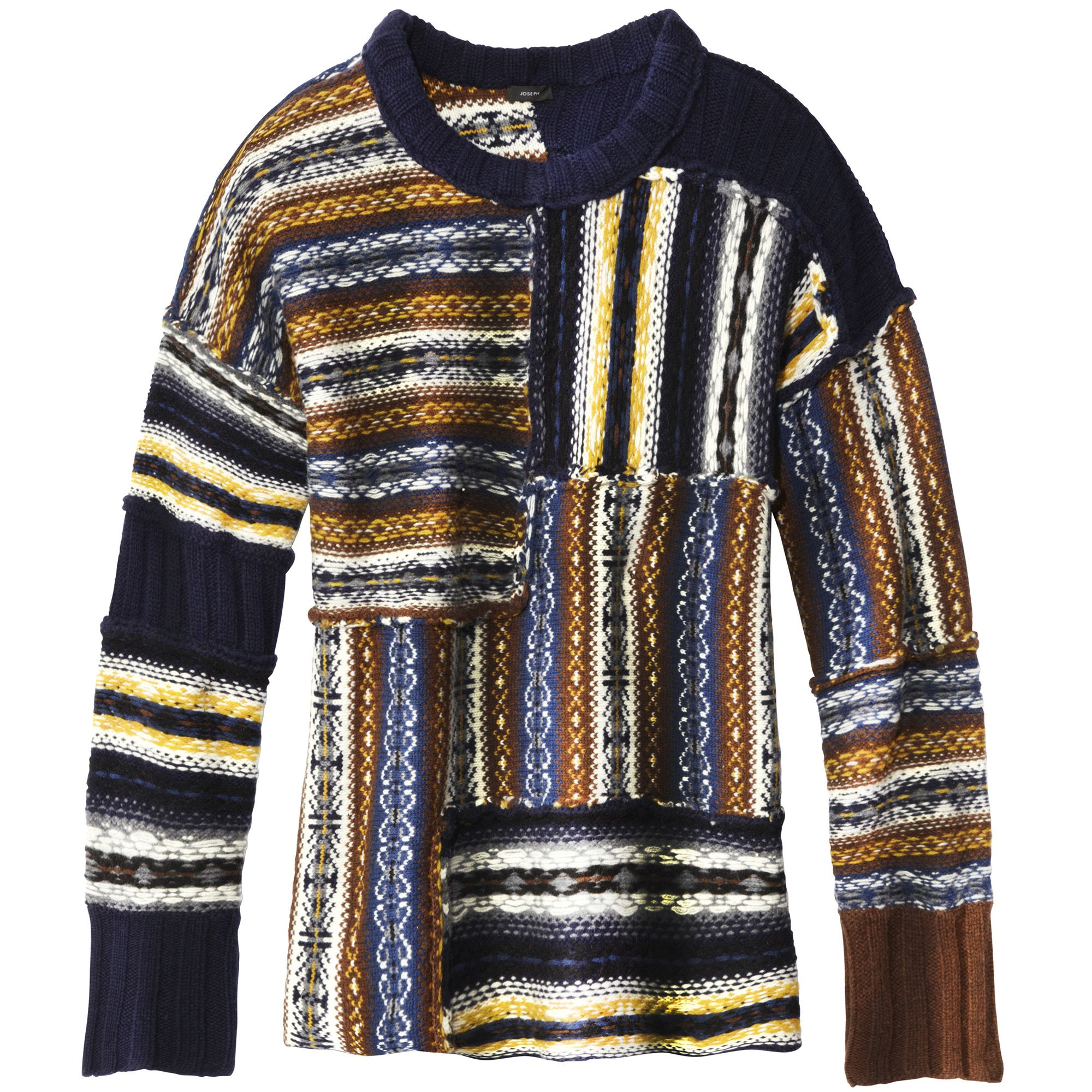 <em>Joseph sweater, $445, 212-570-0077.</em>