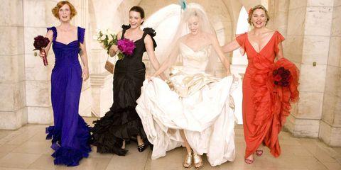 best movie wedding dresses