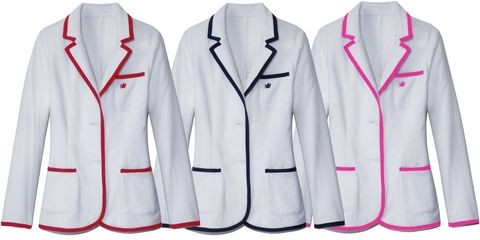 Clothing, Product, Dress shirt, Collar, Sleeve, Red, Pattern, White, Uniform, Formal wear,