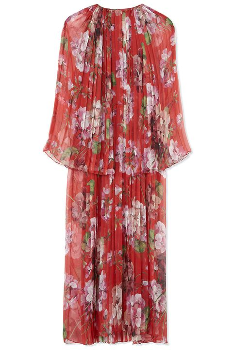 "<p><em>Gucci dress, $4,900, </em><a href=""https://shop.harpersbazaar.com/designers/g/gucci/printed-silk-georgette-pleated-dress-4590.html"" target=""_blank""><em>shopBAZAAR.com</em></a></p>"