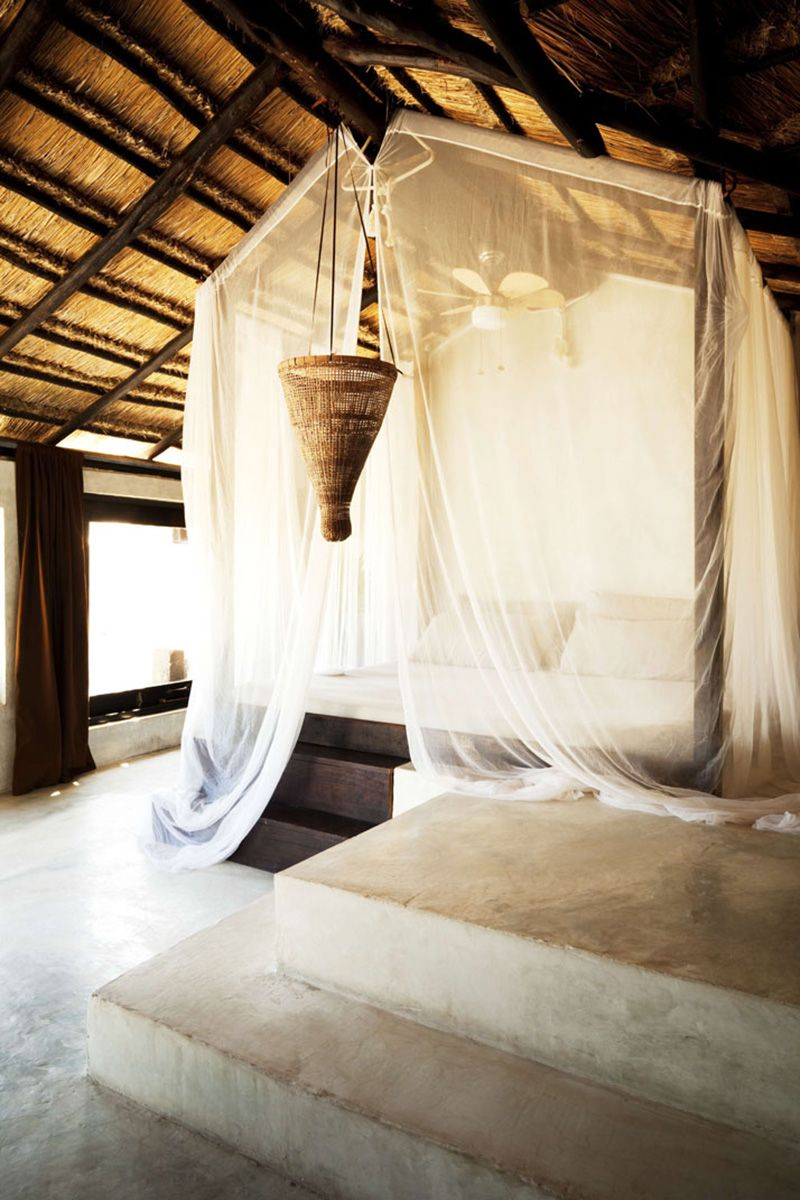 <p><strong>Where:</strong> Tulum, Mexico</p><p><strong>Why: </strong>Since Tulum became the It-destination, all the stylish jetsetters have laid their heads here—and left with the signature scent from the hotel's perfumery.</p>