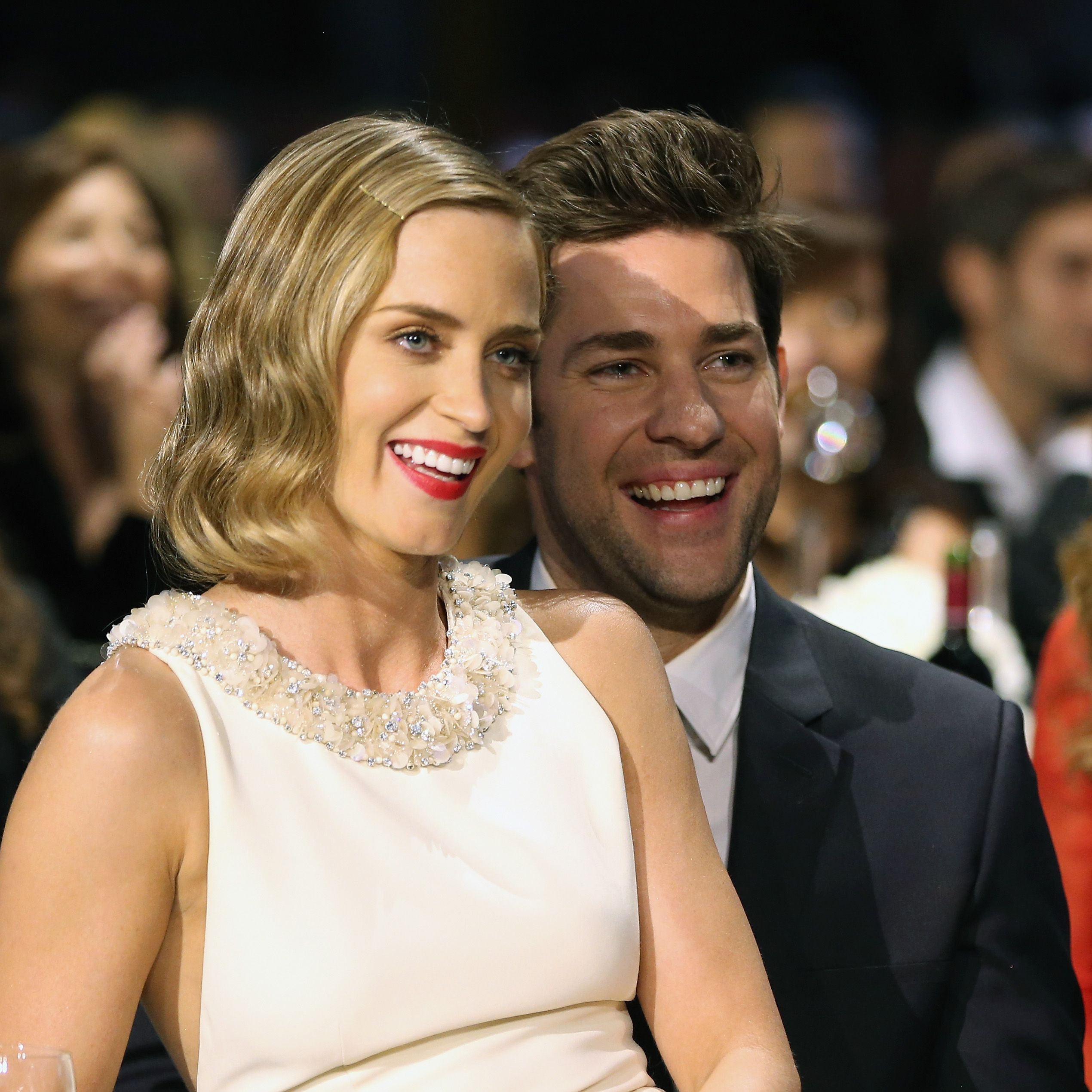"<p>These two would basically be your favorite funny couple to hang out with. Have you seen the video of them <a href=""19673"">pranking Jimmy Kimmel</a>? The most fun.</p>"