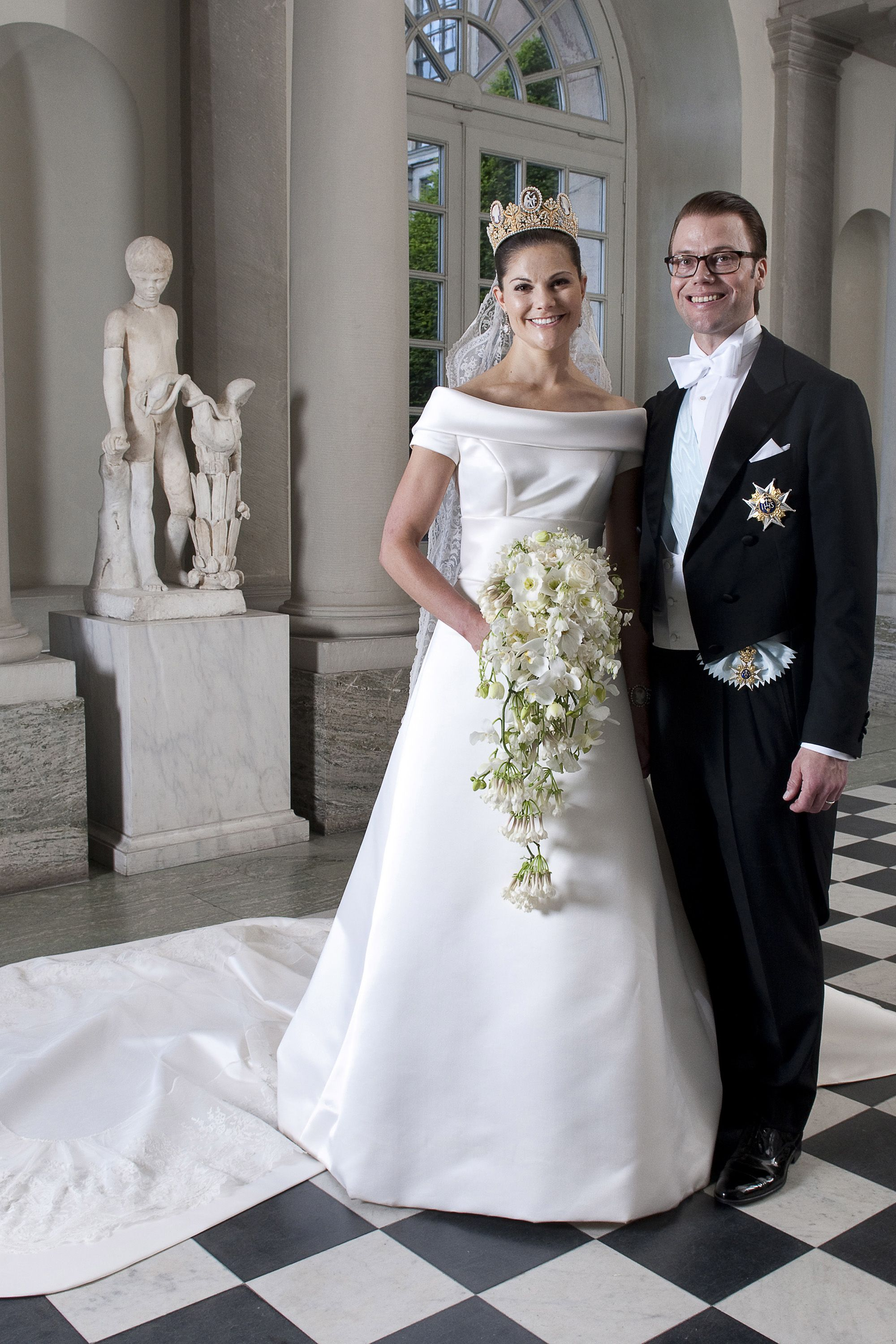 Princess Caroline Wedding Dress