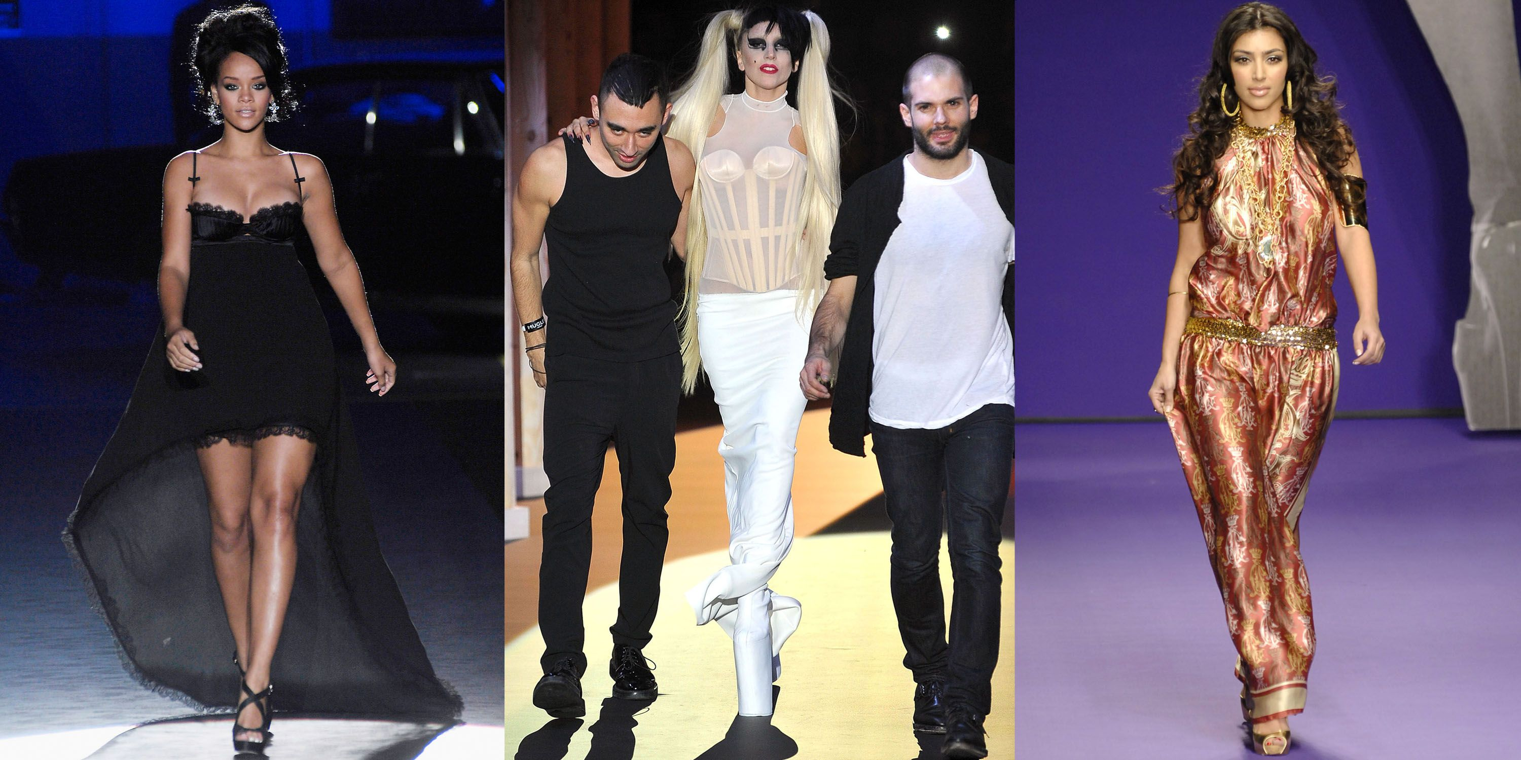 pics 15 Celebrities Who Have Walked The Runway