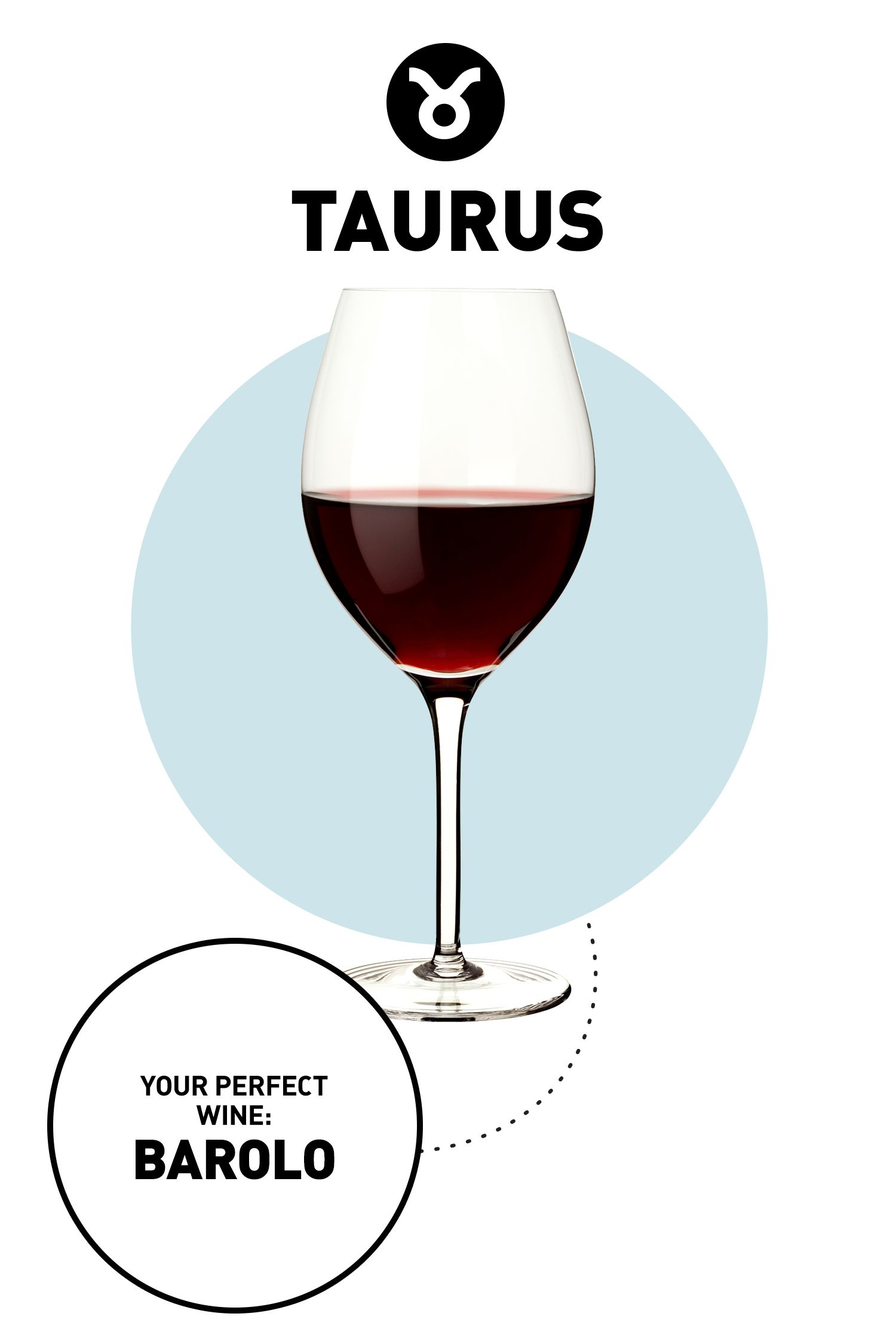 """<p><strong></strong><strong>Your Drink: </strong>Barolo</p><p class=""""MsoNormal""""><o:p></o:p></p><p class=""""MsoNormal""""><strong>Why: </strong>You understand that you can't rush perfection—and let's be real: You enjoy the finer things in life when you can—which makes this old-world wine ideal for you. Often called the """"King of Wines,"""" Barolo is stored for three years before it's sold, which brings out the drink's spicy, fruity flavor. (Plus, like you, it ages well: Ross says some of today's most popular vintages were bottled back in 1998.)</p>"""