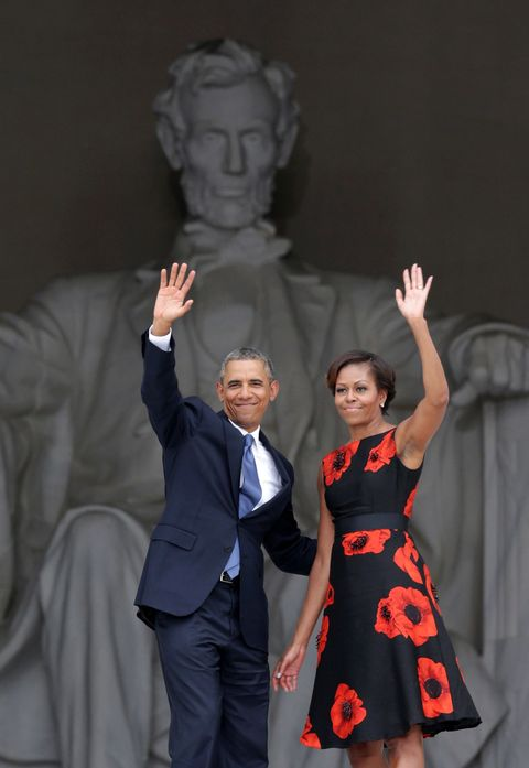 <p>Barack and Michelle breaking up would be like your mom and dad splitting. </p>