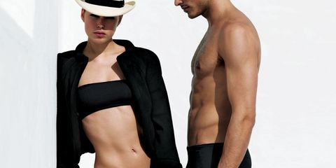 Skin, Shoulder, Chest, Standing, Joint, Trunk, Muscle, Barechested, Organ, Abdomen,