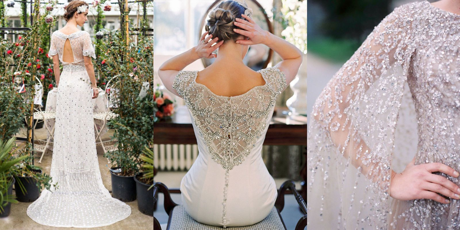 32 Bedazzled Wedding Dresses