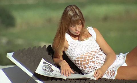 "<p>A seminal style moment from ""La Piscine.""</p>"