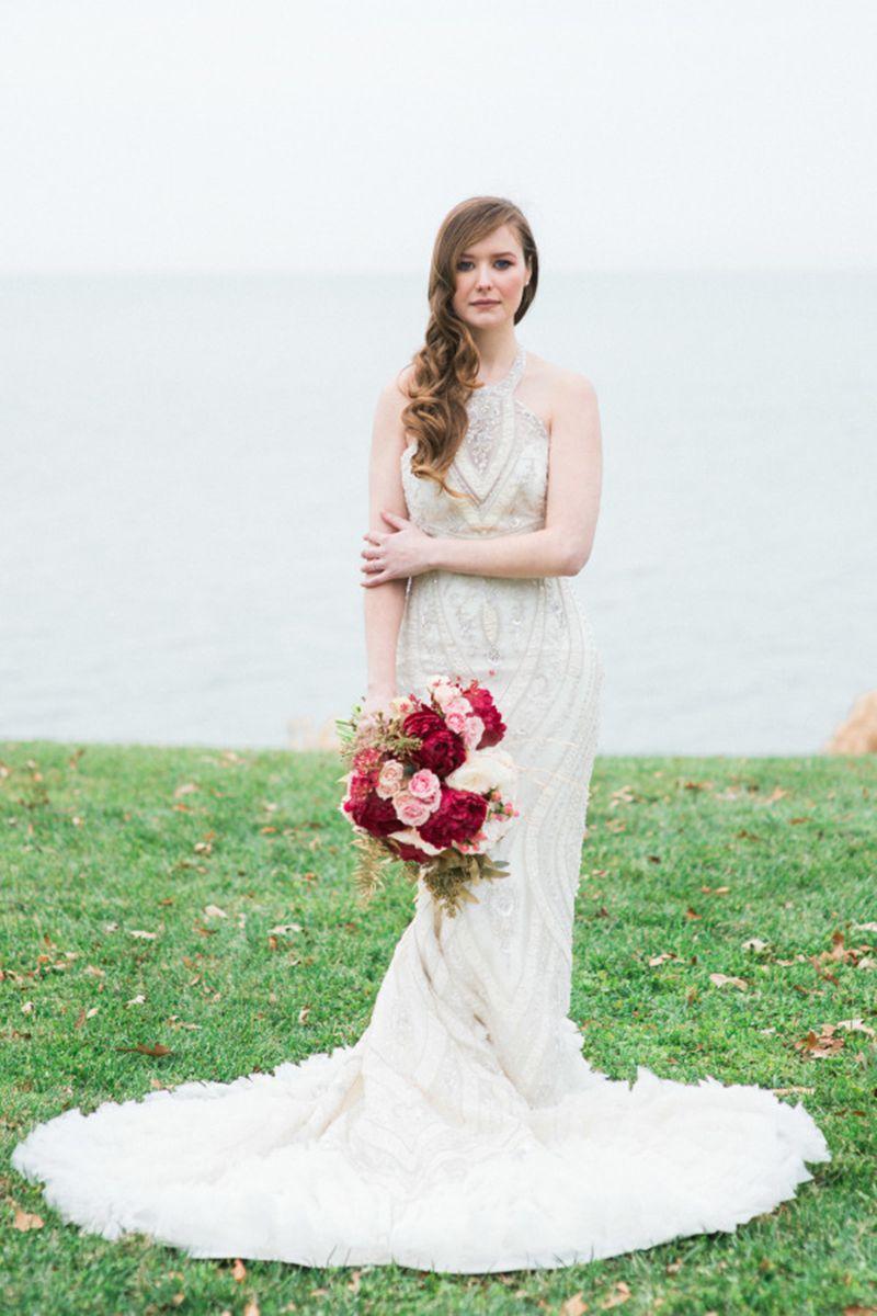 Beautiful Bedazzled Wedding Dresses