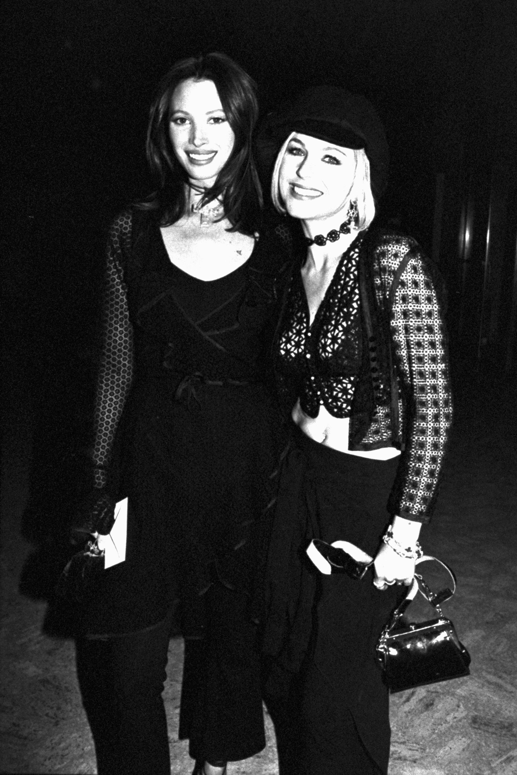 <p>The '90s took crochet to cool, gothic places.</p>