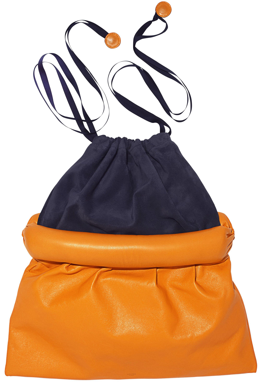 <em>Celine pouch, $1,700, 212-226-8001. </em>