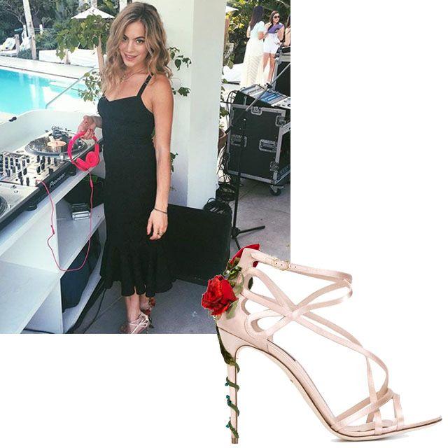 """<p><em>Dolce & Gabbana sandal, $1,395, </em><a href=""""http://shopBAZAAR.com""""><em></em><strong><em>shopBAZAAR.com</em></strong></a><a href=""""https://shop.harpersbazaar.com/designers/dolce-gabbana/climbing-rose-sandall/"""" target=""""_blank""""></a></p><p><a href=""""https://instagram.com/ChelseaLeyland"""" target=""""_blank""""><strong>@ChelseaLeyland</strong></a></p>"""