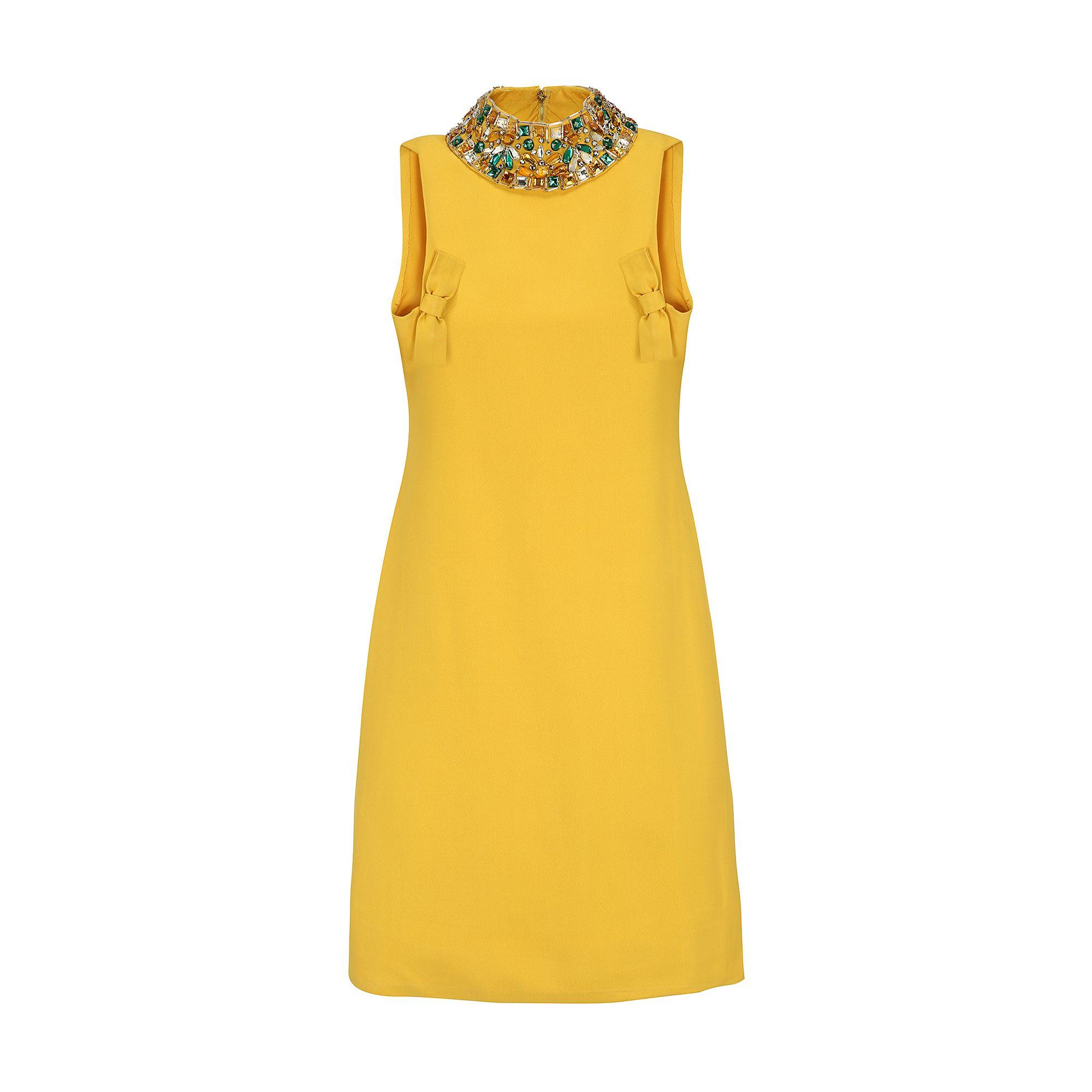 "<p><strong>La DoubleJ</strong> silk crepe dress, $460, <a href=""https://ladoublej.com/shop/dresses/silk-crepe-dress-1960s/"" target=""_blank"">ladoublej.com</a>. </p>"
