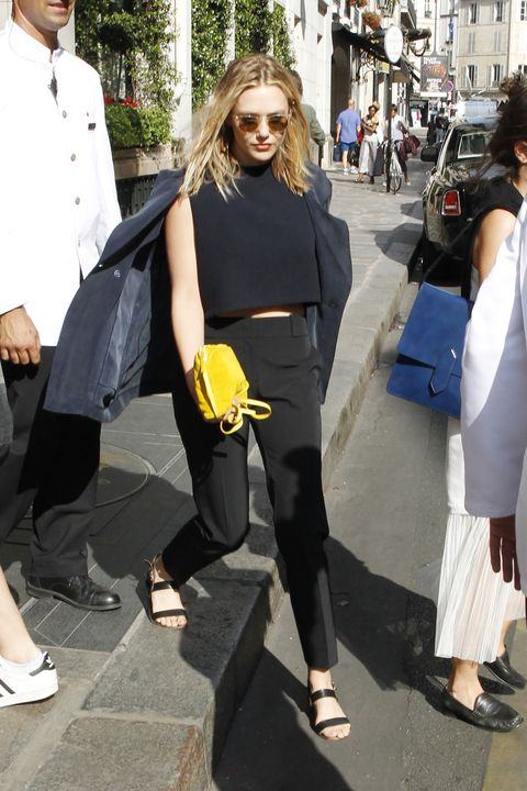 Clothing, Footwear, Leg, Trousers, Bag, Outerwear, Style, Luggage and bags, Fashion accessory, Street fashion,