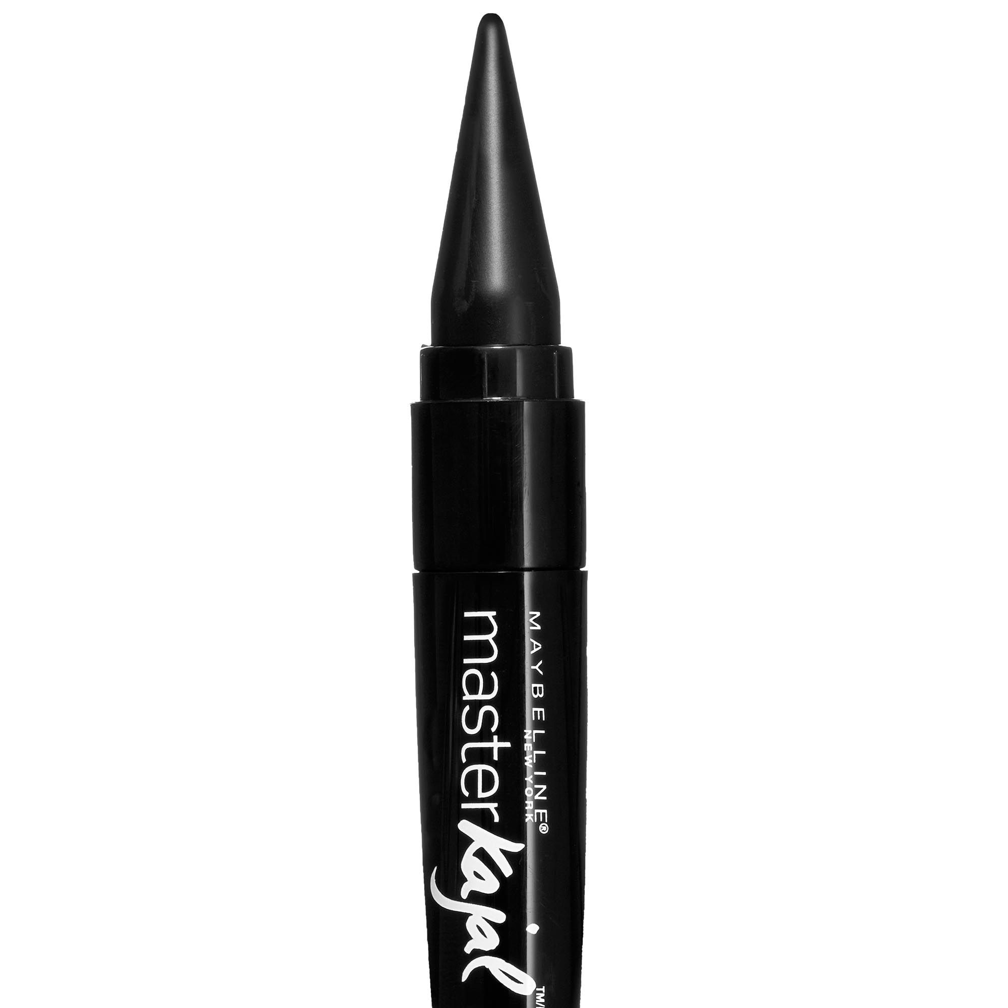 "<p><strong>Maybelline New York </strong>Eye Studio Master Graphic Liquid Liner in Striking Black, $7.99, <a href=""http://www.maybelline.com/Products/Eye-Makeup/Eye-Liner/Eye-Studio-Master-Graphic.aspx"" target=""_blank"">maybelline.com</a>. </p>"