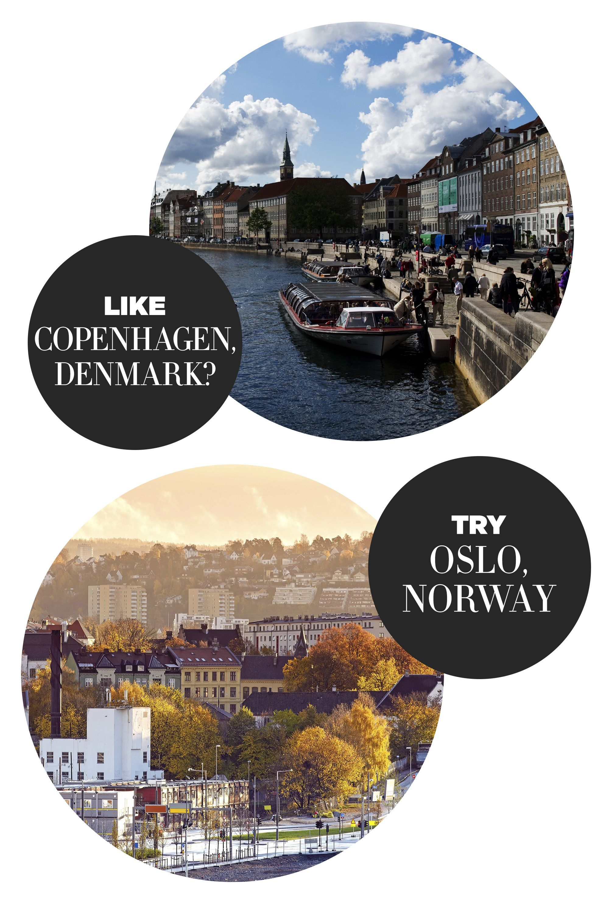 """<p>""""The walkable city is tailor-made for travelers interested in culture, Viking history, and a new twist on Nordic food. There's also easy access to amazing hiking.""""</p><p><strong>Highlights: </strong>The perfect balance of shopping, dining, history and hiking—with many picturesque trails. </p><p><strong>Stay at:</strong> <a href=""""http://www.virtuoso.com/hotels/14368272/hotel-continental-oslo#.VbuXlUJViko"""" target=""""_blank"""">Hotel Continental Oslo</a></p>"""