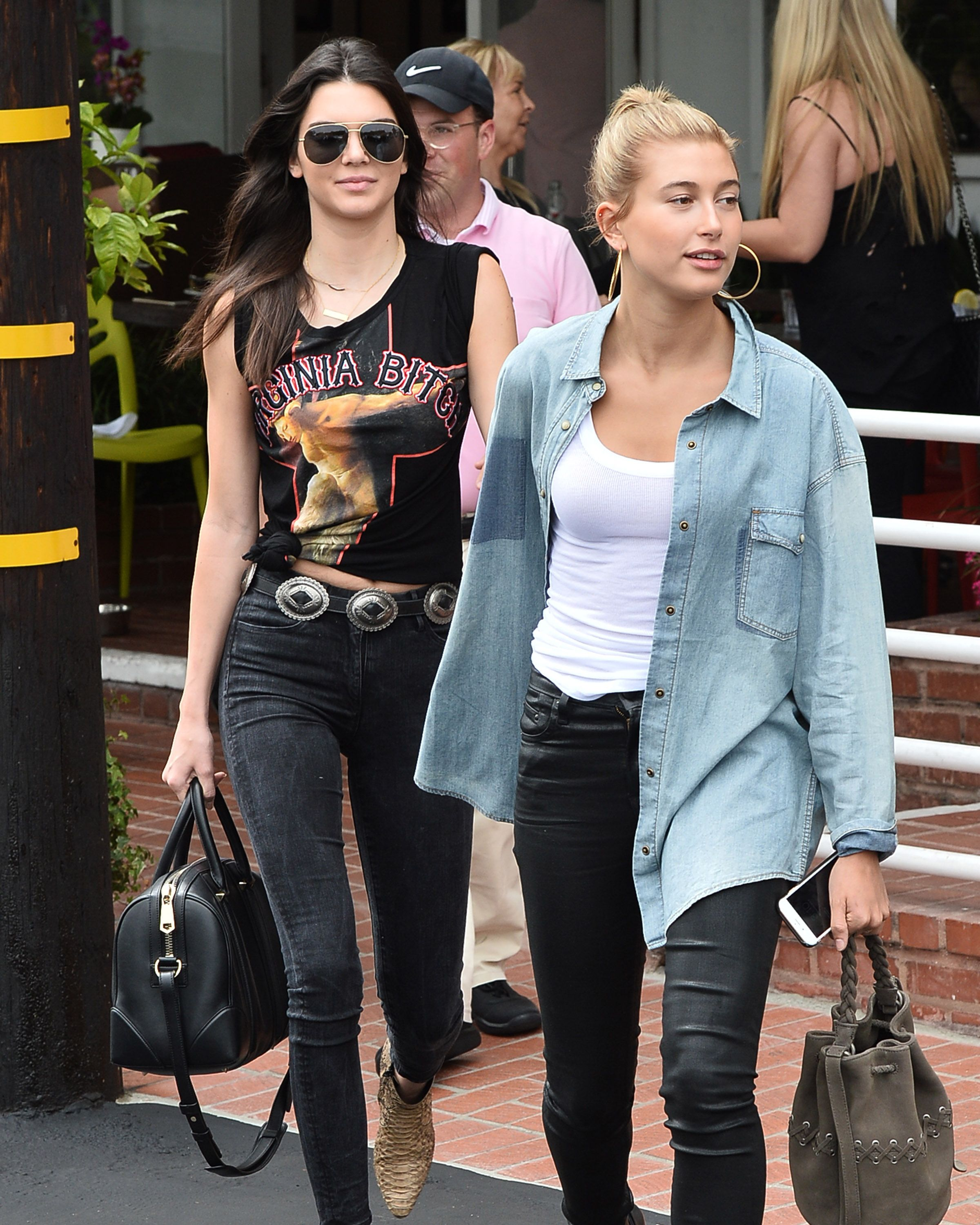 Kendall Jenner and Hailey Baldwin Get Matching Tattoos