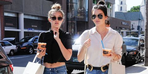 Kendall and Gigi Usher In a New Model-Off-Duty Style