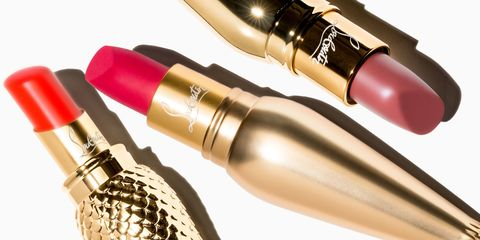 Christian Louboutin Created The Most Glamorous Lipstick Ever