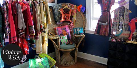 Textile, Retail, Collection, Clothes hanger, Market, Curtain, Collectable,