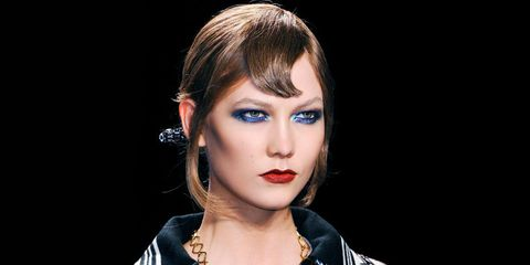 Nose, Mouth, Lip, Hairstyle, Chin, Eyebrow, Eyelash, Earrings, Fashion accessory, Eye shadow,