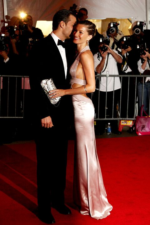 <p>At the 2008 Met Gala, 'Superheroes: Fashion And Fantasy'</p>