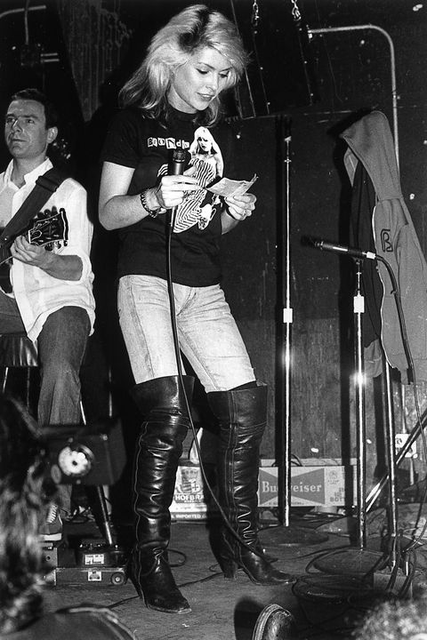<p>Known for the sticker clad walls and prominent rock performances, this venue founded by Hilly Kristal helped to usher in new American music genres and revolutionize culture in downtown Manhattan. </p><p><em>Pictured: Debbie Harry on the stage before a performance. </em></p>