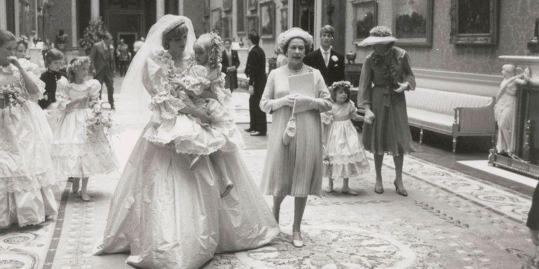 Princess diana pictures wedding