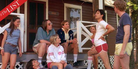 Face, Arm, Leg, Social group, Thigh, Sunglasses, Door, Lap, Active shorts, Bermuda shorts,