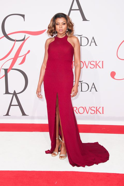 <p>in Vera Wang at the CFDA Awards</p>