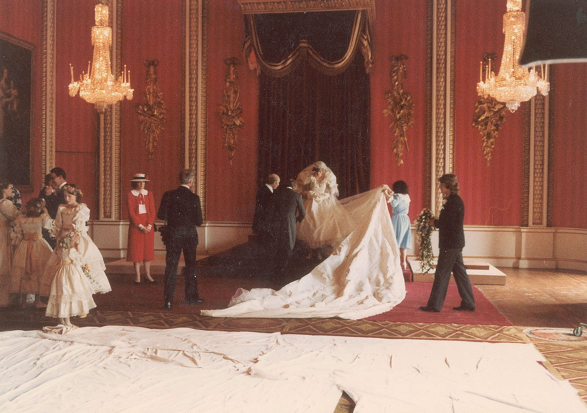 Diana And Charles Wedding.Princess Diana And Prince Charles Unseen Wedding Photos