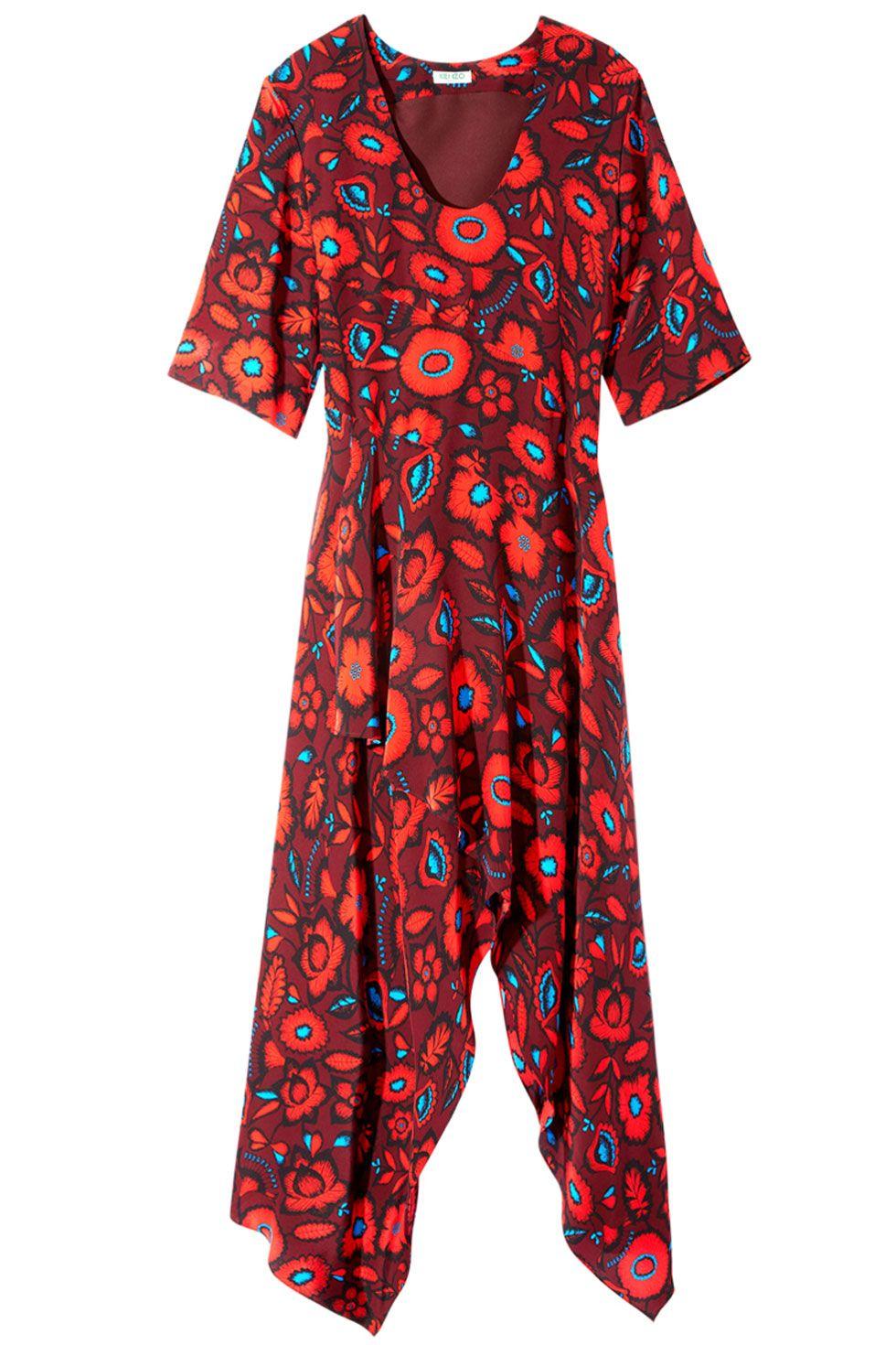"<p>Kenzo dress, $785, <a href=""https://shop.harpersbazaar.com/Designers/K/Kenzo/Shadow-Flowers-Print-Silk-Jaquard-SS-Hankerchief-Maxidress-5136.html"" target=""_blank"">shopBAZAAR.com</a></p>"