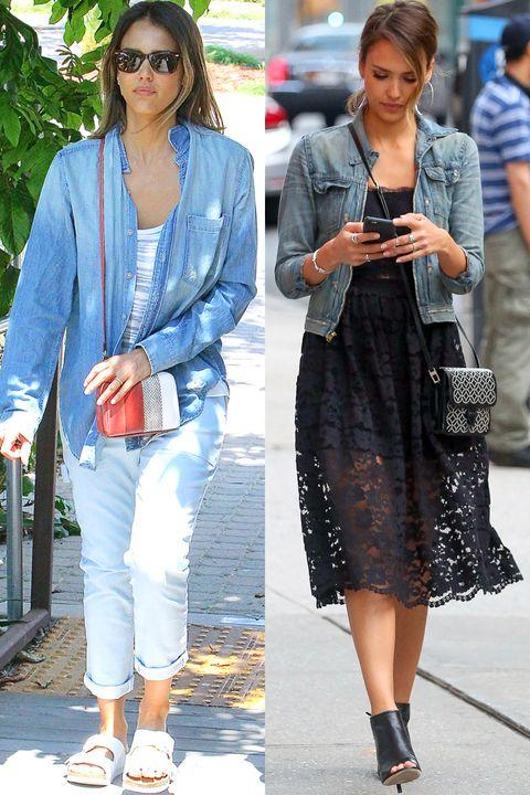 Clothing, Footwear, Leg, Textile, Bag, Fashion accessory, Outerwear, White, Street fashion, Style,