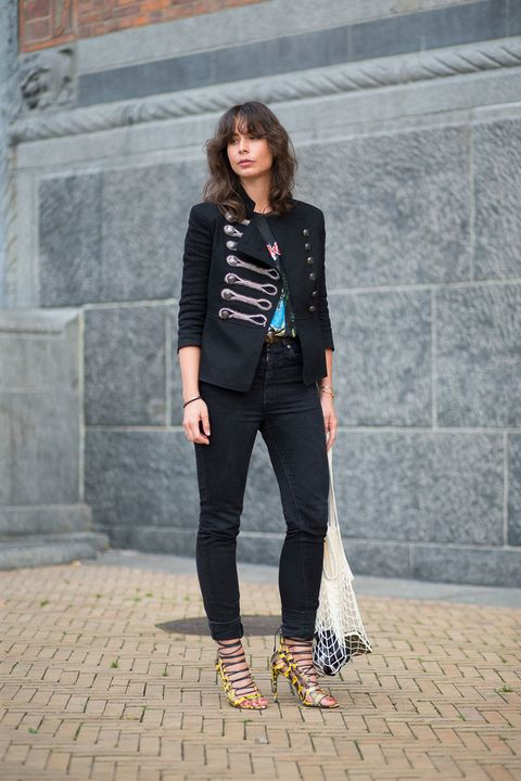 Clothing, Textile, Photograph, Outerwear, Bag, Fashion accessory, Collar, Style, Street fashion, Blazer,
