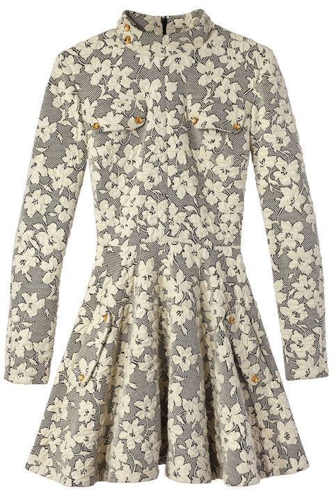 "<p><strong>J.W. Anderson</strong> dress, $1,480, <a href=""https://shop.harpersbazaar.com/designers/j-w-anderson/floral-skater-dress/"" target=""_blank"">shopBAZAAR.com</a></p>"