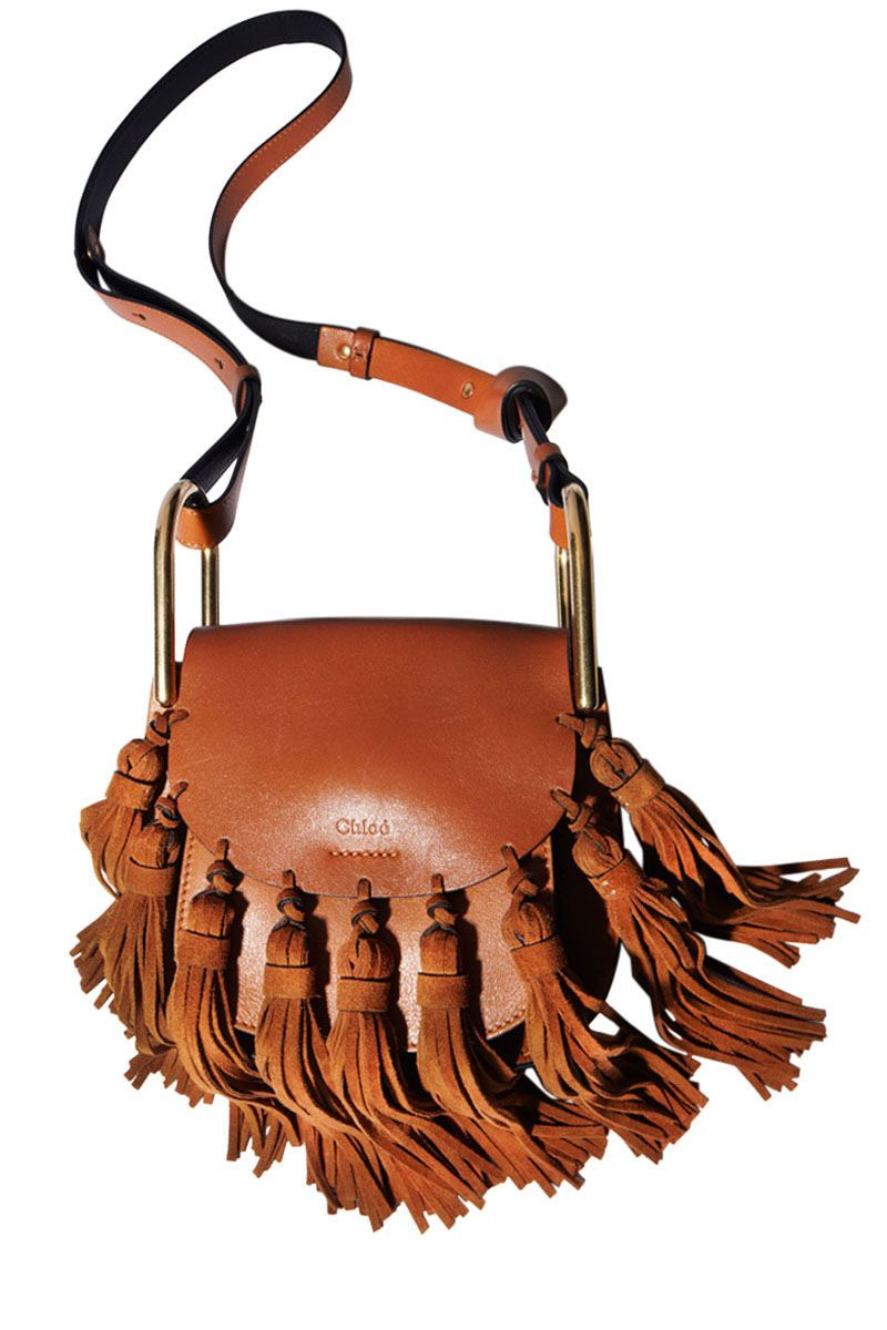 "<p><strong>Chloé</strong> bag, $2,150, <a href=""https://shop.harpersbazaar.com/Needs-Attention/Mini-Hudson-Suede-Tassel-902.html"" target=""_blank"">shopBAZAAR.com</a></p>"