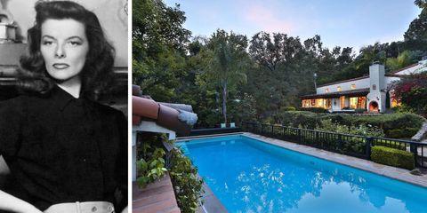 Go Inside Katharine Hepburn's $7.39 Million LA Home