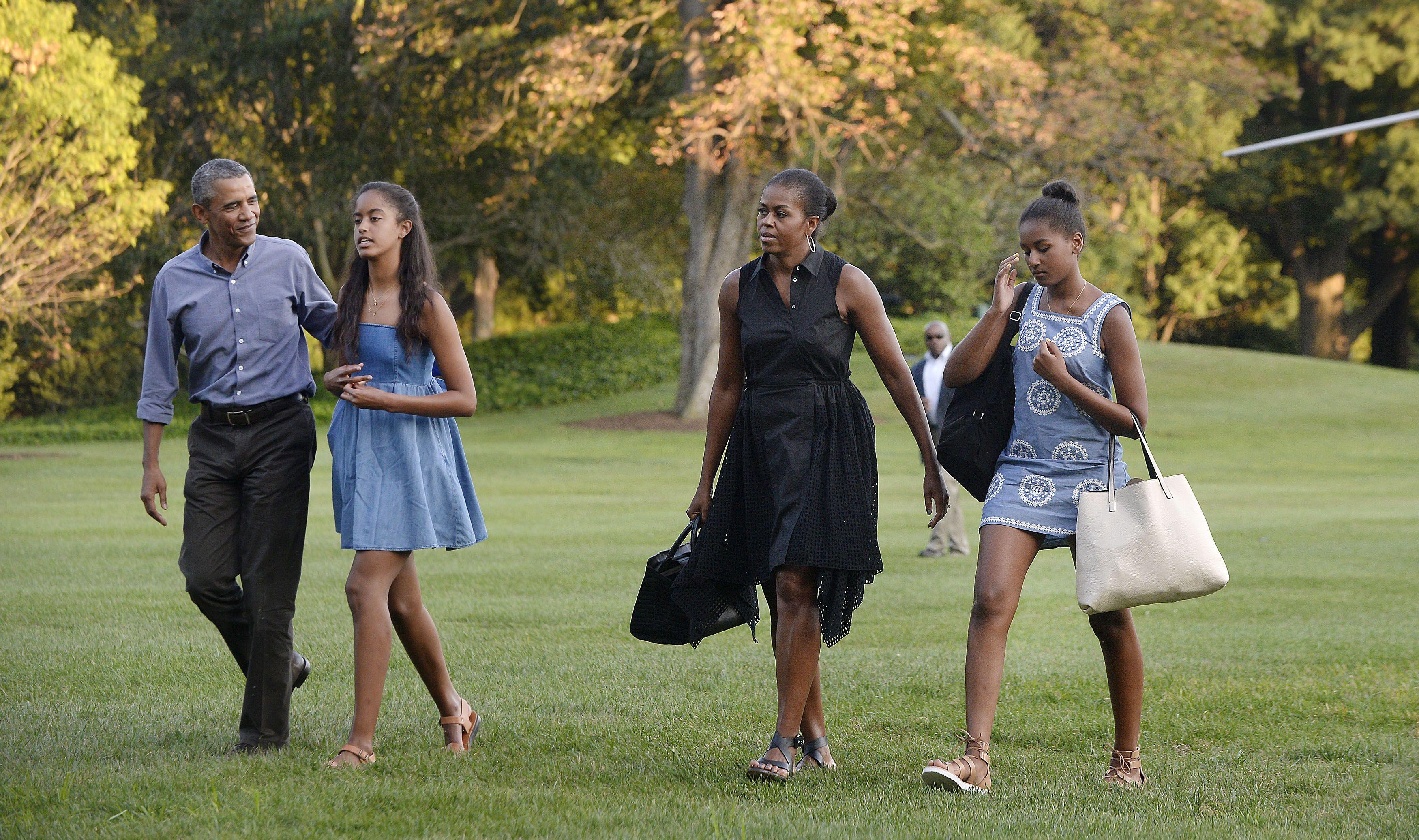 Sasha and malia obamas best fashion looks style evolution of sasha and malia obamas best fashion looks style evolution of sasha obama and malia obama ombrellifo Images