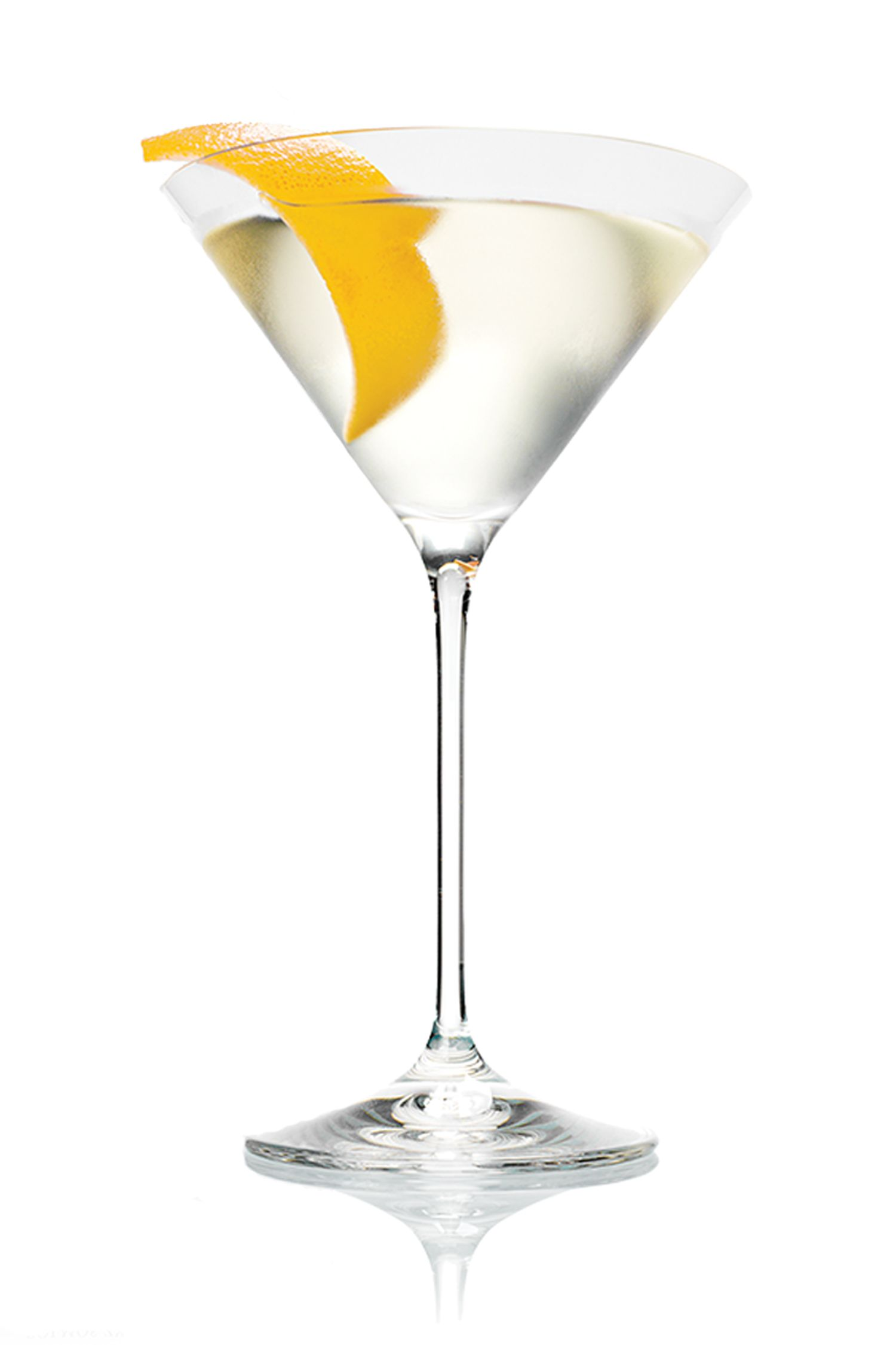 """<p><strong>The Drink</strong><br></p><p><span class=""""redactor-invisible-space"""">Martinis are eternally chic. (Have you ever known anyone who looks anything but cool while drinking James Bond's iconic cocktail?) No need to sully their purity with olive juice–simple is delicious!</span></p><p><em></em><strong>The Recipe</strong></p><p><em></em> 2 oz Belvedere Vodka </p><p>1/3 oz Dry Vermouth</p><p>Serve this classic 'tini shaken, not stirred&#x3B; garnish with a lemon twist. </p>"""