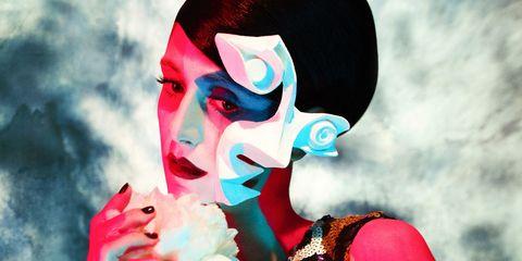 Lip, Colorfulness, Art, Paint, Painting, Modern art, Visual arts,