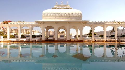 "<p>From walking through the Taj Mahal to tiger tours in Kanha National Park, India is filled with exotic and luxe culture for everyone to experience. Visit the Buddhist caves of Ajanta, shop the bazaars in Jaipur, see the palaces in Rajashtan and relax on the beaches of Goa for a well-rounded vacation full of rich cultural experiences.  <em></em></p><p><em>Where to stay: Taj Lake Palace in Udaipur</em><em>, <a href=""http://www.tajhotels.com/luxury/grand-palaces-and-iconic-hotels/taj-lake-palace-udaipur/overview.html"" target=""_blank"">tajhotels.com</a>. </em></p>"