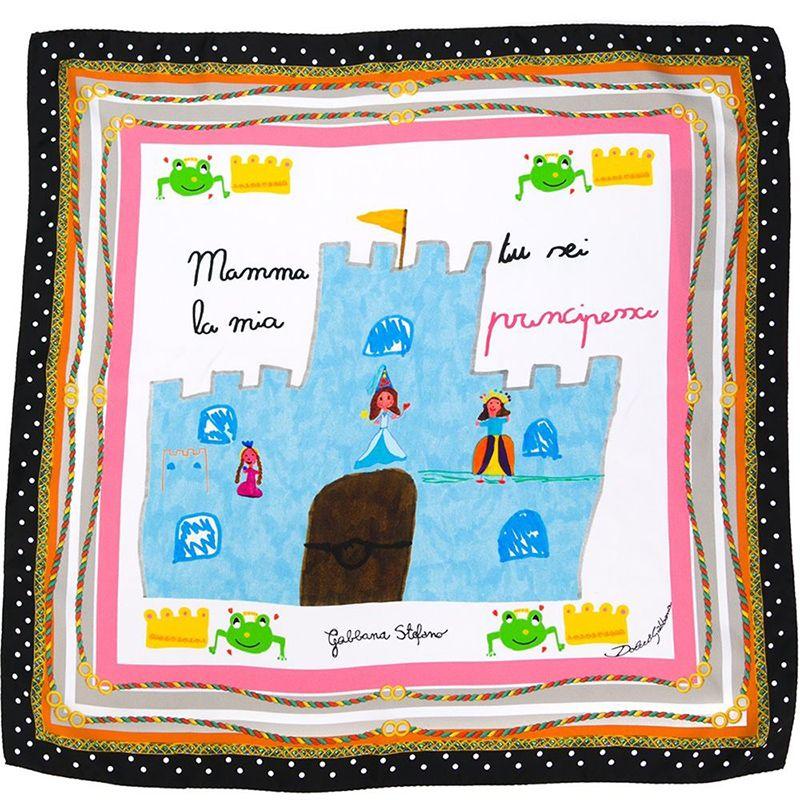"<p><strong>Dolce & Gabbana </strong>scarf, $445, <a href=""http://www.farfetch.com/shopping/women/dolce-gabbana-mamma-print-scarf-item-11138803.aspx?storeid=9709&ffref=lp_67_6_"" target=""_blank"">farfetch.com</a>.</p>"