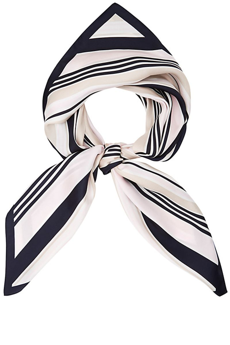 "<p><strong>Viyella </strong>scarf, $81, <a href=""http://us.johnlewis.com/viyella-diagonal-stripe-scarf-navy/p2015782#media-overlay_show"" target=""_blank"">johnlewis.com</a>.</p>"