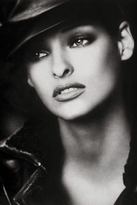 "<p><em>Photographed for the September 1992 issue by Peter Lindbergh, styled by Paul Cavaco and Tonne Goodman.</em></p><p><em></em>Fashion photographers adore working with Linda Evangelista in part because she is the industry's ultimate changeling. At one point she dyed her hair 17 times in five years. Of all the original supermodels, Linda was also the most notorious. That's due in large part to a quip she made in a 1990 interview: ""We don't wake up for less than $10,000 a day."" Linda admits that she had her diva moments, but she was never delusional. ""I climbed the ladder very,very slowly,"" she says. ""I remember a salon once paid me $400 to put a picture of me with a new haircut in the window, and I was ecstatic,"" she adds. ""I never dreamed as high as the cover of <em>Bazaar.</em><span class=""redactor-invisible-space"">"" </span></p>"