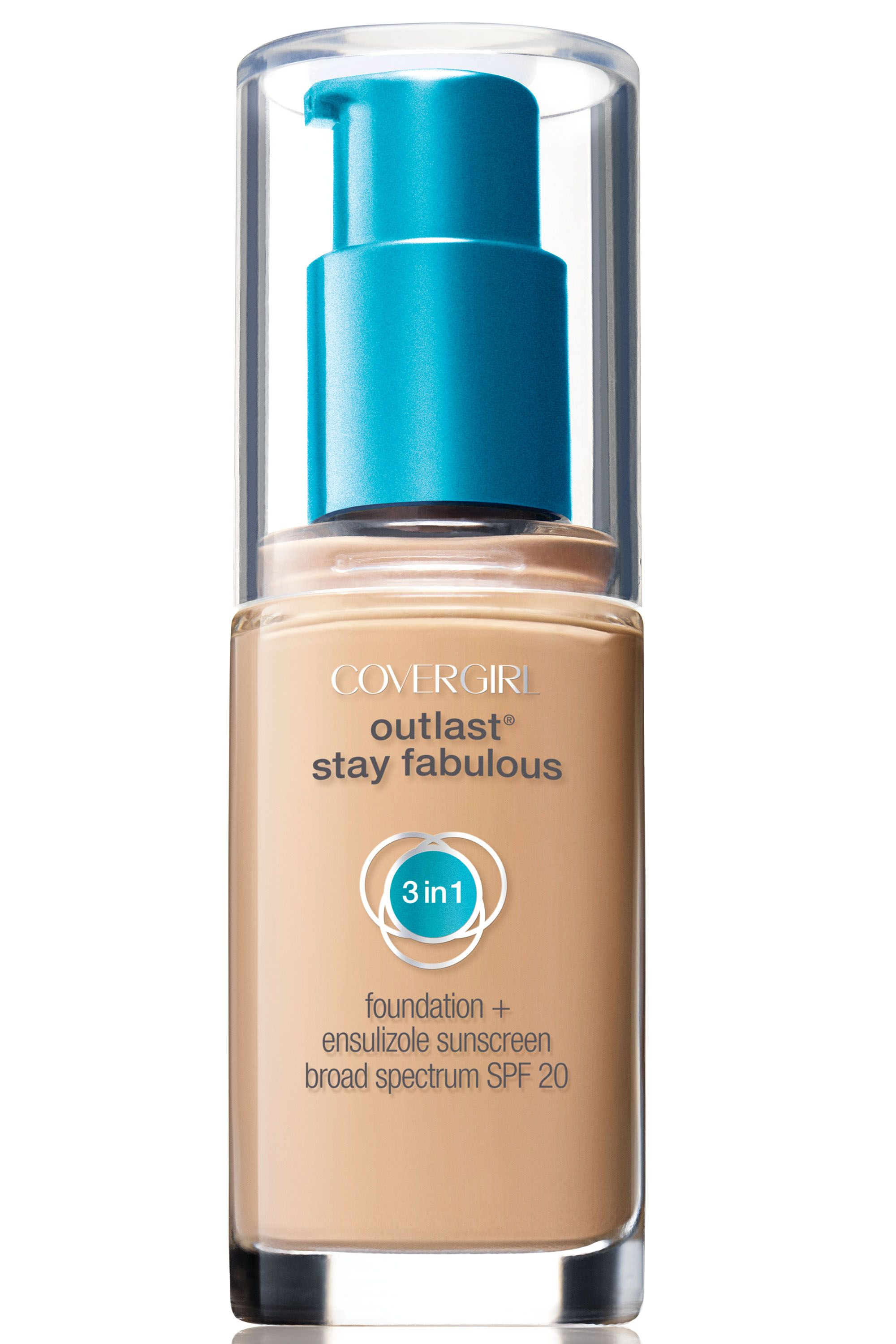 "<p>Pecheux applied foundation to Perry's skin using his fingers. ""When you warm it up in your hands, you make it more transparent,"" he explains.</p><p><strong>CoverGirl</strong> Outlast Stay Fabulous 3-in-1 Foundation, $11, <a href=""http://www.covergirl.com/beauty-products/face-makeup/foundation-makeup/outlast-3-in-1-foundation"" target=""_blank"">covergirl.com</a>.</p>"