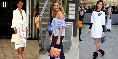 Clothing, Face, Leg, Bag, Outerwear, Fashion accessory, Style, Luggage and bags, Dress, Street fashion,