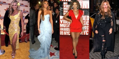 6d558263450 Beyonce s Style Evolution in Photos - Beyonce Style Over The Years