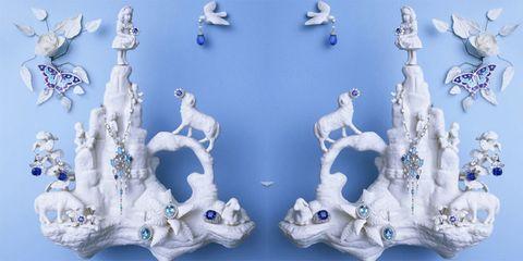 Blue, Porcelain, Collection,